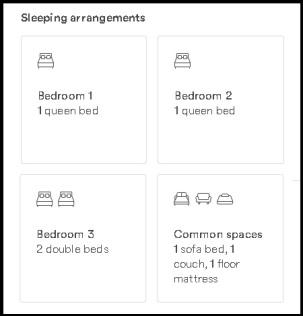 New Sleeping arrangements