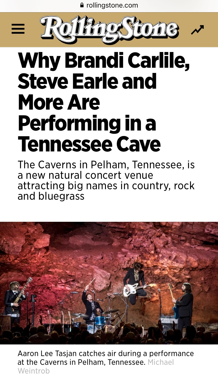 Pelham Pointe Mountaintop Cabin Rentals The Caverns Rolling Stone