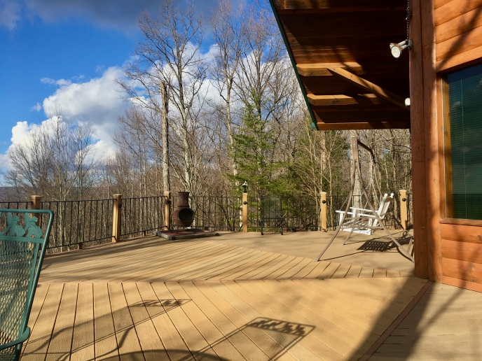 Pelham Pointe's inviting deck.